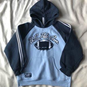 💥5/$15💥 Polo Hooded Sweatshirt